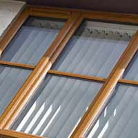 Light Oak Upvc Window